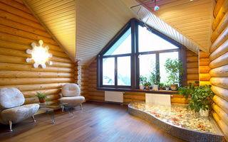 Блок хаус внутри дома — нестандартное решение