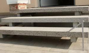 Готовые ступеньки для крыльца — фото ступеней из дерева, бетона, металла