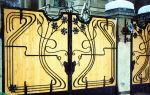 Ворота с элементами ковки – от простого к сложному