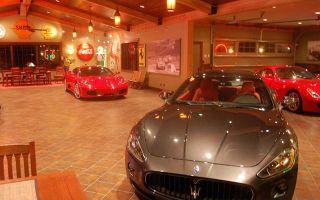 Интерьер гаража с фото