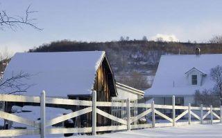 Уборка снега с крыши. Февраль