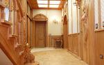 Интерьер прихожей в частном доме – русский стиль
