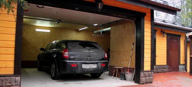 Фундамент под каркасный гараж — мой опыт