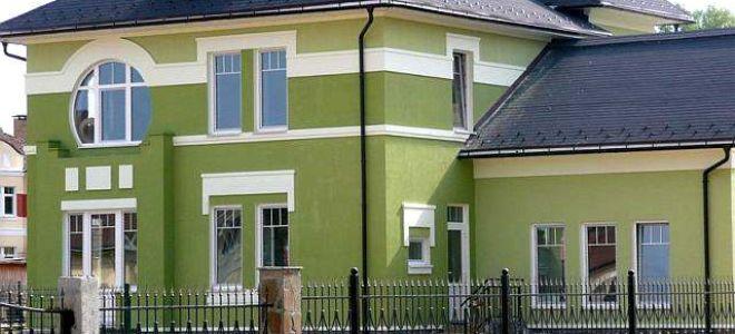 Каким цветом покрасить фасад частного дома – фото вариантов
