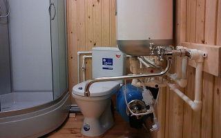 Зимнее водоснабжение бани из колодца