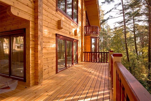 Как пристроить веранду к деревянному дому 1