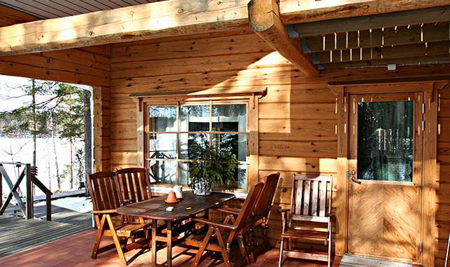 Как пристроить веранду к деревянному дому 4