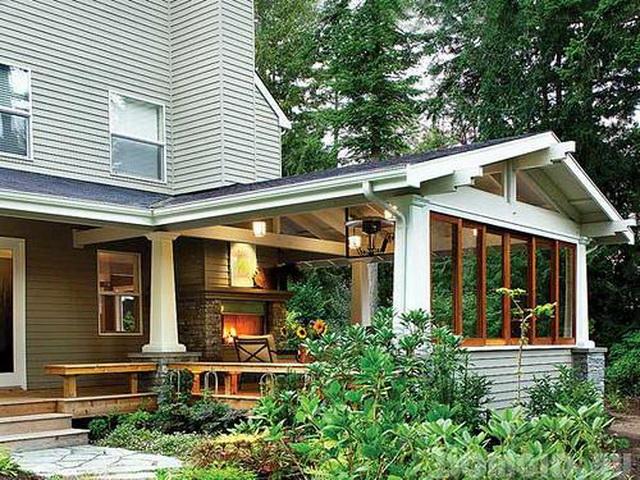 Как пристроить веранду к деревянному дому 5