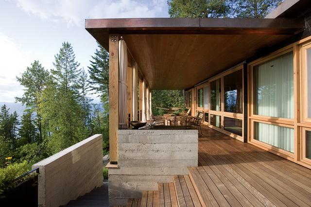 Как пристроить веранду к деревянному дому 6