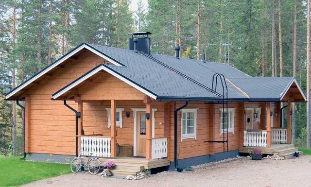 Одноэтажный дом-А
