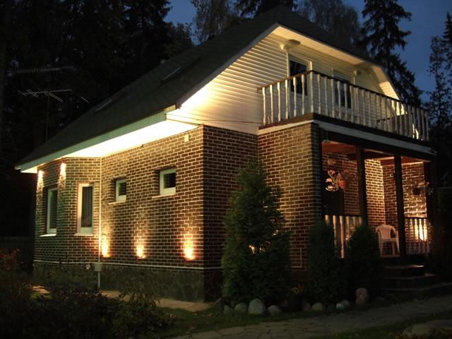 Расходы на электричество в частном доме А