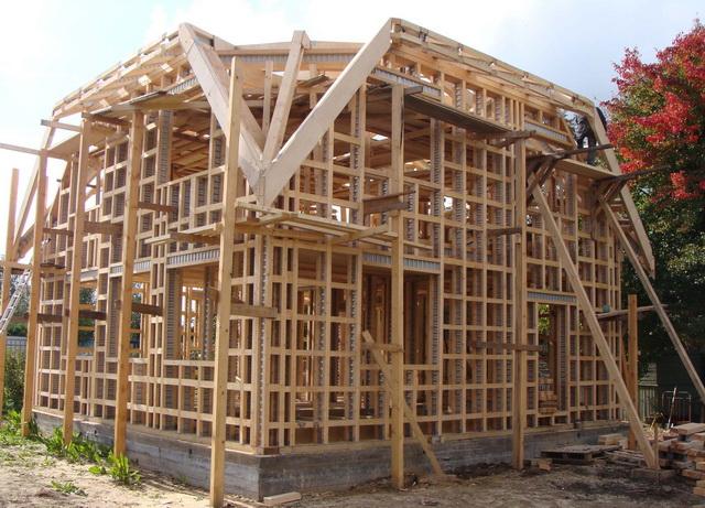 Стройка дома своими руками