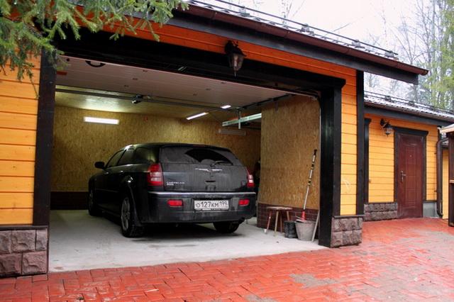 Фундамент под каркасный гараж А