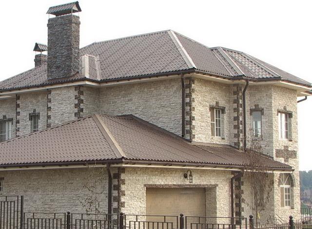 Дома из искусственного камня 3