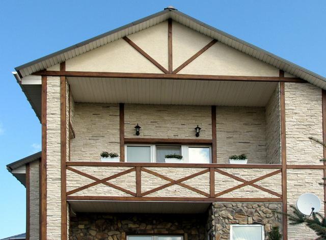 Дома из искусственного камня 4