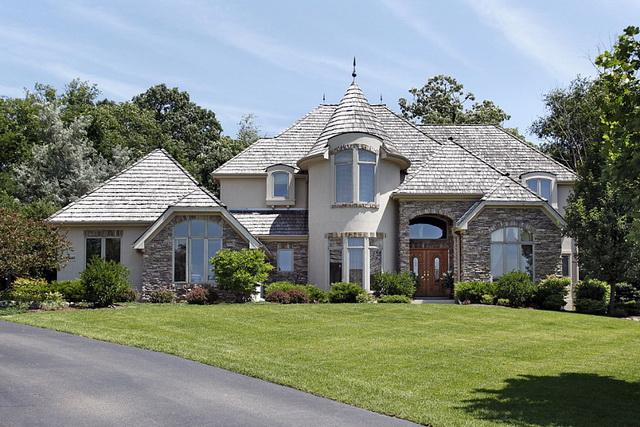 Дома из искусственного камня 5