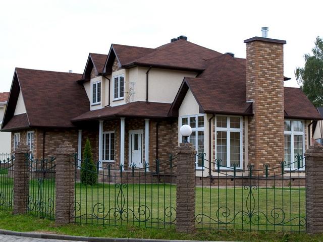 Дома из искусственного камня 6