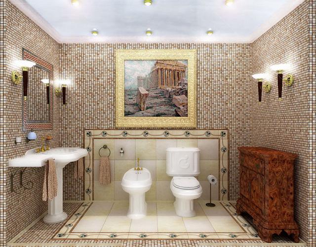 Интерьер туалета фото 4