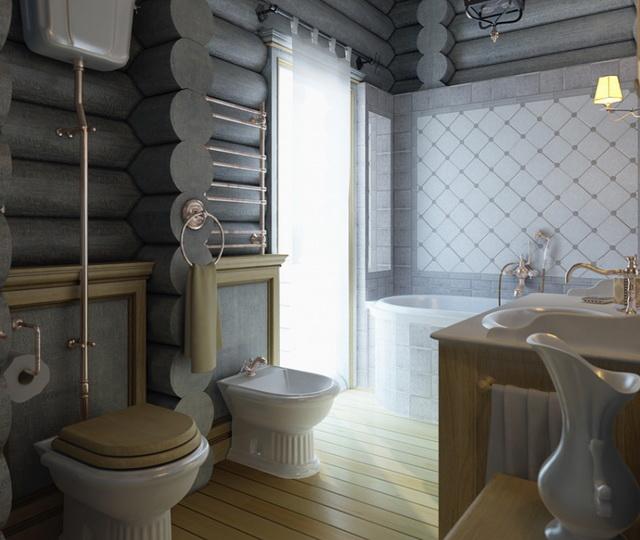 Интерьер туалета фото А