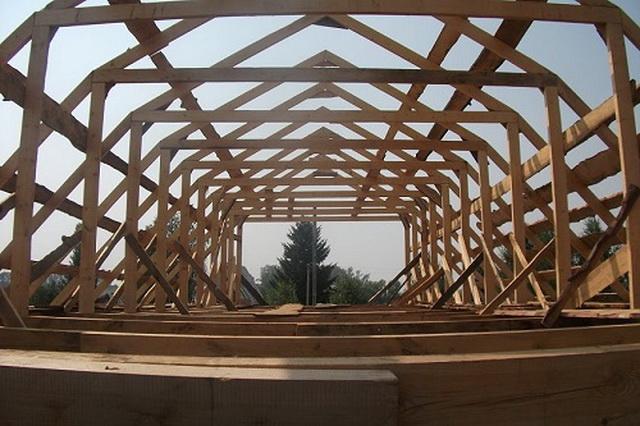 Ломаная крыша чертеж и фото 1