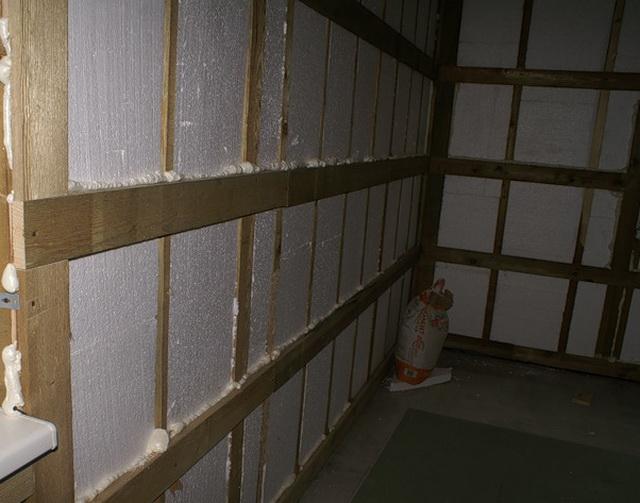 Утепление внутренних стен кирпичного дома 2