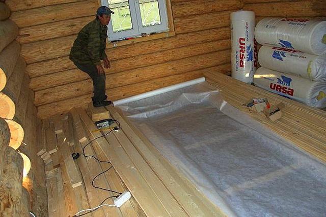 Как правильно утеплять пол в деревянном доме 3