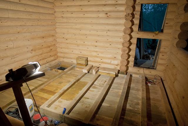 Как правильно утеплять пол в деревянном доме 5