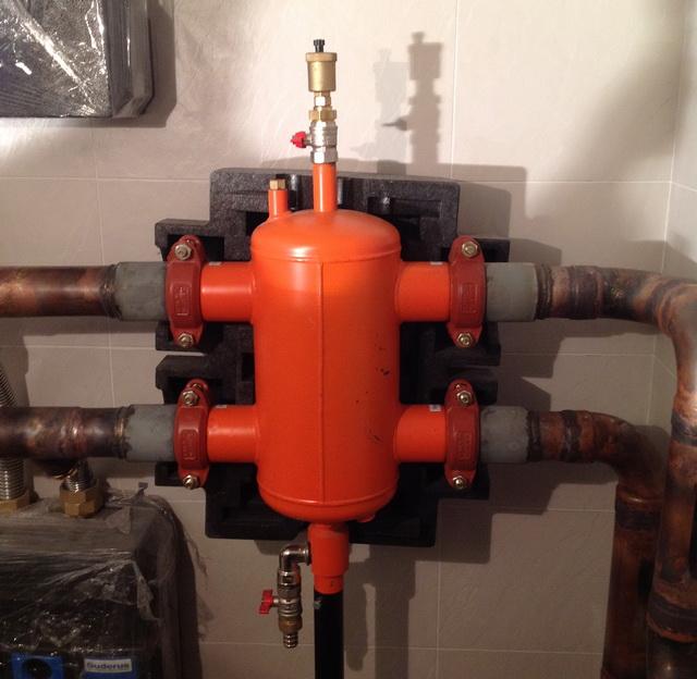Как работает гидравлическая стрелка в системе отопления 1