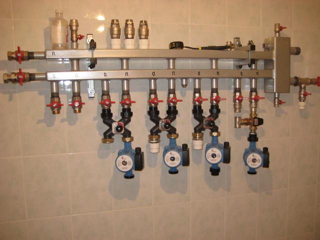 Как работает гидравлическая стрелка в системе отопления 2