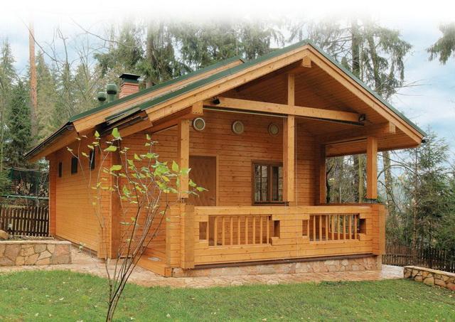 Дома из профилированного бруса - стоимость брусовых домов под ключ 4