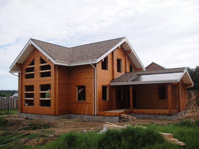 Дома из профилированного бруса - стоимость брусовых домов под ключ 5