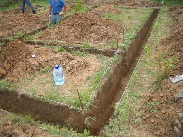 Мелкозаглубленный ленточный фундамент своими руками - марка бетона для МЗФЛ 3