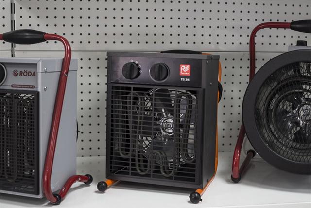 Тепловые электрические пушки - обзоры, большой каталог, расход электроэнергии 4