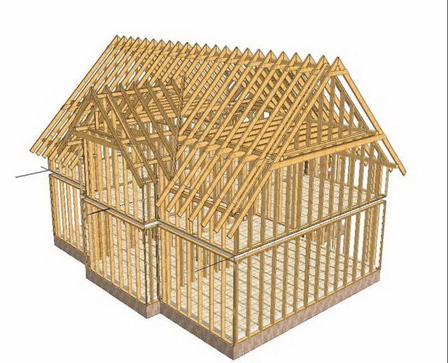Как можно самому построить каркасный дом своими руками – видео и фото 2