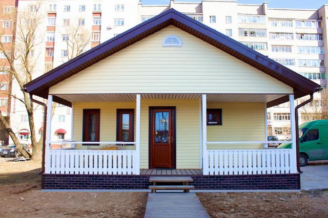 Одноэтажные каркасные дома для постоянного проживания 4