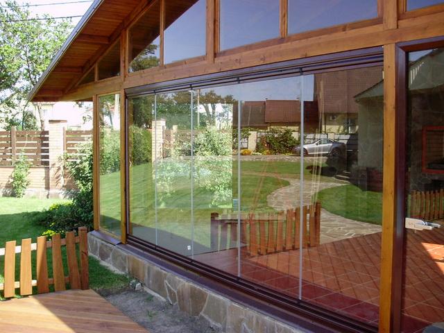 Окна из поликарбоната для веранды - варианты, фото, цена 2