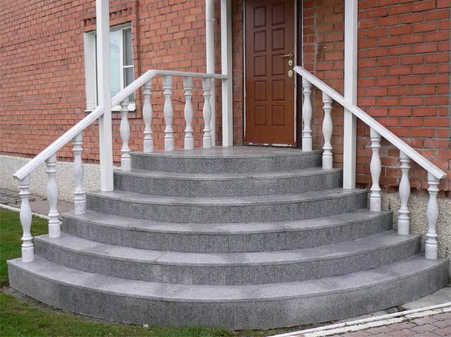 Ширина, высота, размеры ступеней для крыльца частного дома 4