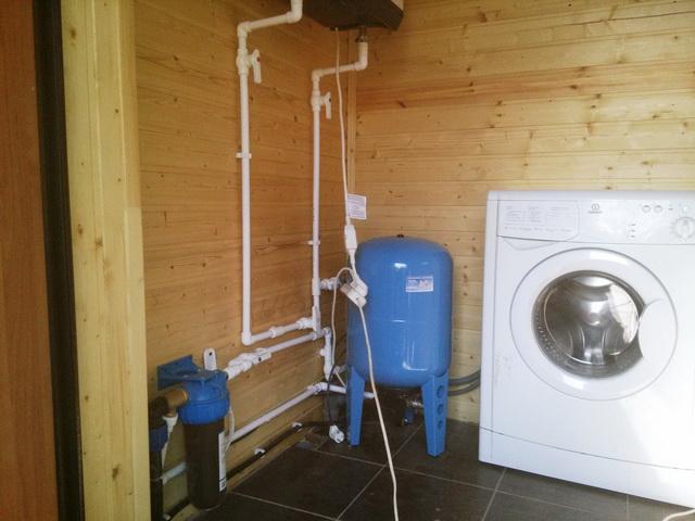 Как можно сделать водопровод из колодца - зимний вариант 4