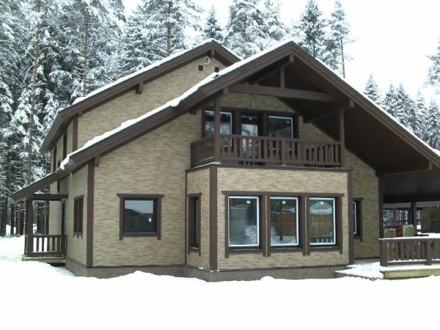 фасадные панели для наружной отделки дома фото 1