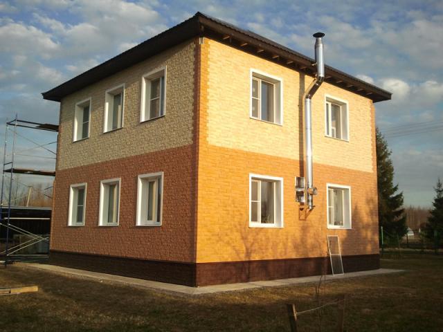 фасадные панели для наружной отделки дома фото 3