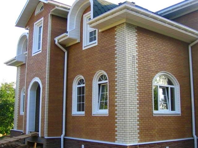 фасадные панели для наружной отделки дома фото 7