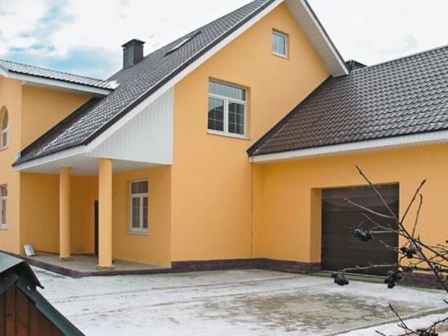 каким цветом покрасить фасад частного дома фото 2