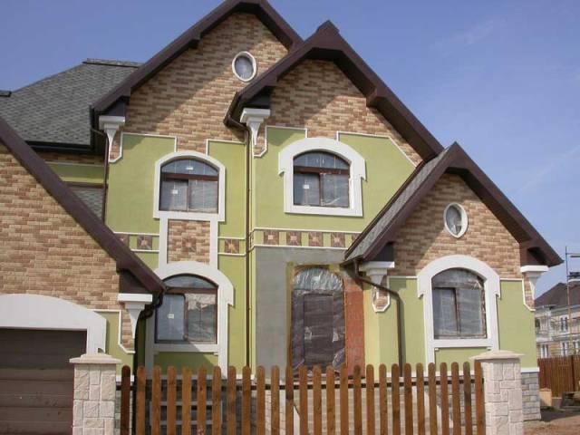 каким цветом покрасить фасад частного дома фото 3