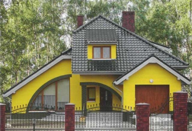 каким цветом покрасить фасад частного дома фото 4