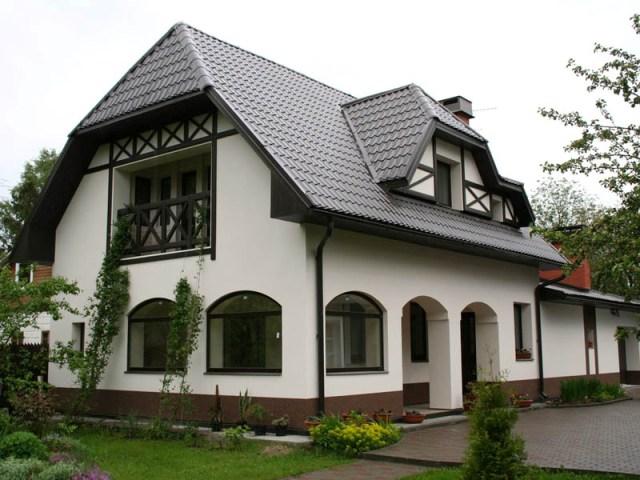 каким цветом покрасить фасад частного дома фото 5