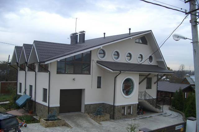 каким цветом покрасить фасад частного дома фото 6