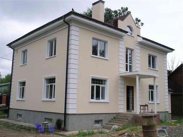 каким цветом покрасить фасад частного дома фото 7