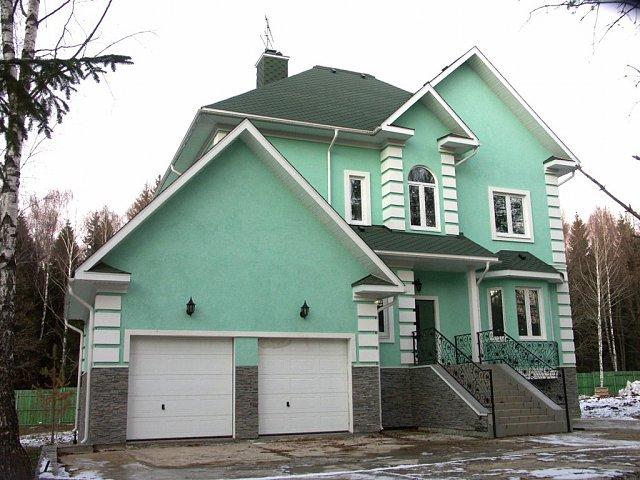 каким цветом покрасить фасад частного дома фото 8