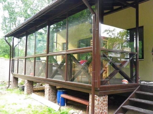 террасы и веранды пристроенные к дому фото 1