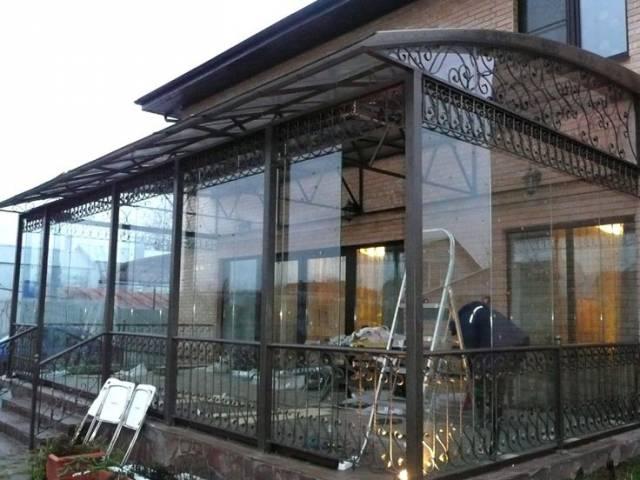 террасы и веранды пристроенные к дому фото 4